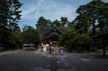尾山神社に参拝。