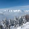 雪の笠ヶ岳