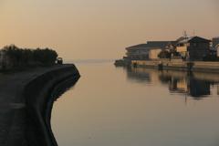 小豆島の夕べ
