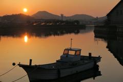 小豆島の夕べ2