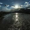 大河の流れ