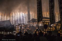 ナイアガラの滝(ぎふ祭り)