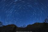 里山の冬(夜空)