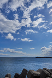 Blue sky,Blue ocean