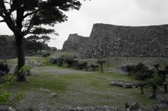 古城跡の緑場