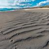 砂浜を歩く