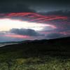 虹ケ浜の夕焼け