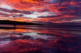 南の海の夕焼け物語