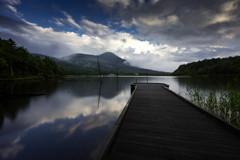 夏の女神湖