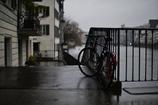 濡れる自転車