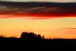田舎の夕焼け 2