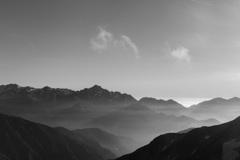 立山・劔を望む