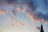 Evening sky(Trip to north city #17)