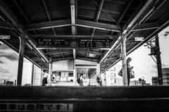 Platform at 13:35