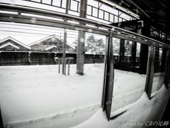 春分の積雪
