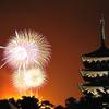 古都の夜空を焦がす 若草山焼き2014