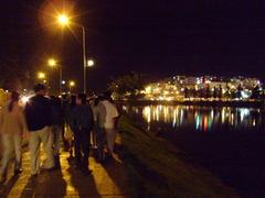Đà Lạt市の夜景