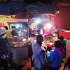 Food stalls at night Thamel, KTM