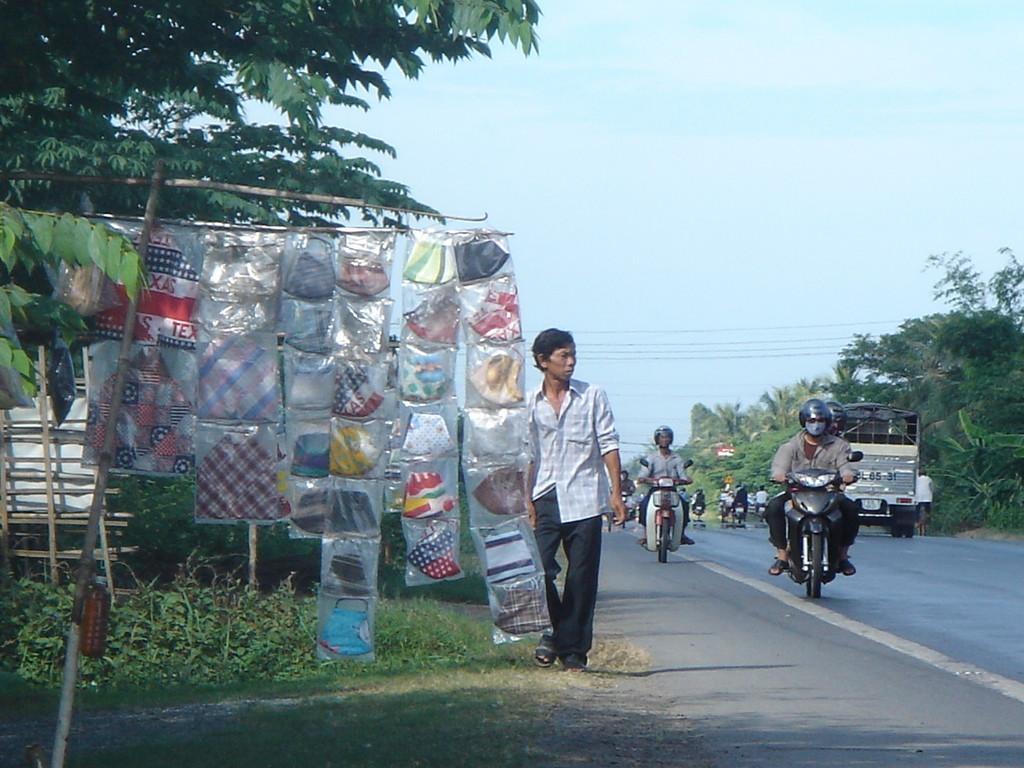 バイクに乗る人用のマスク