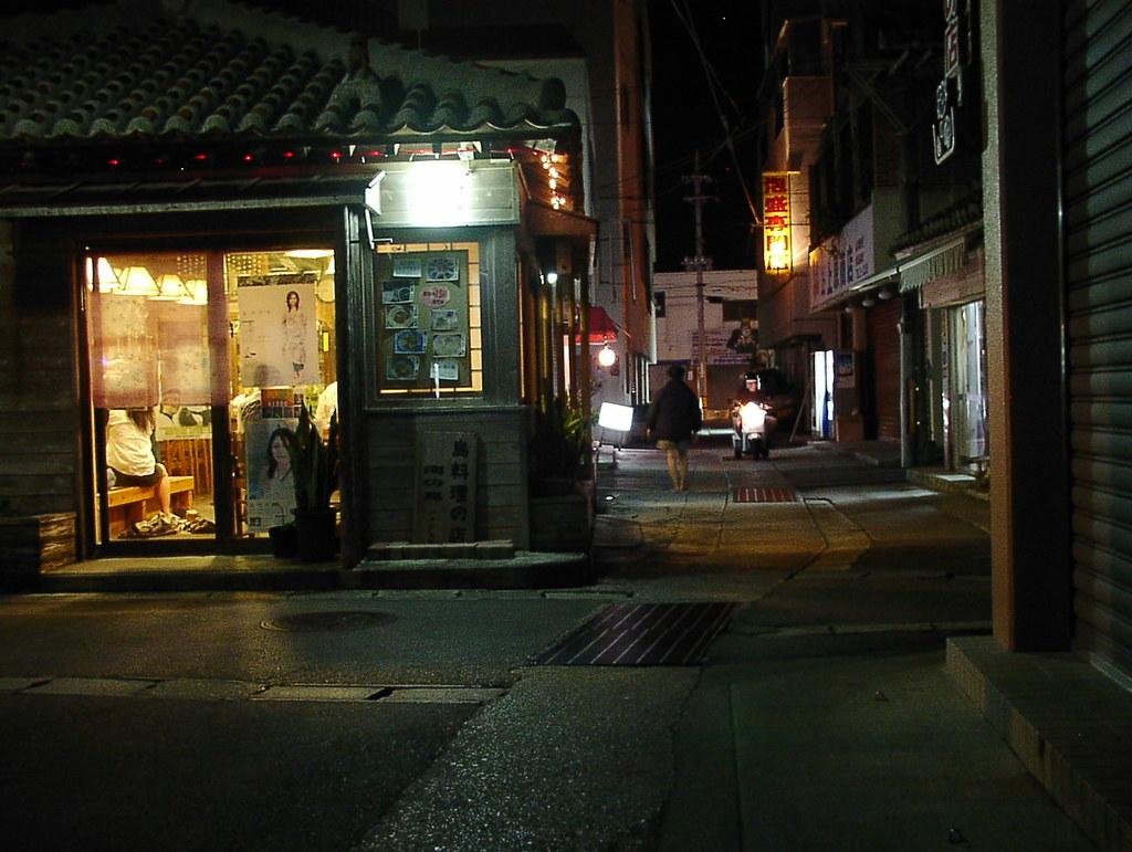 夜の石垣島にて