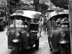 Tuktuk in Ratchathewi