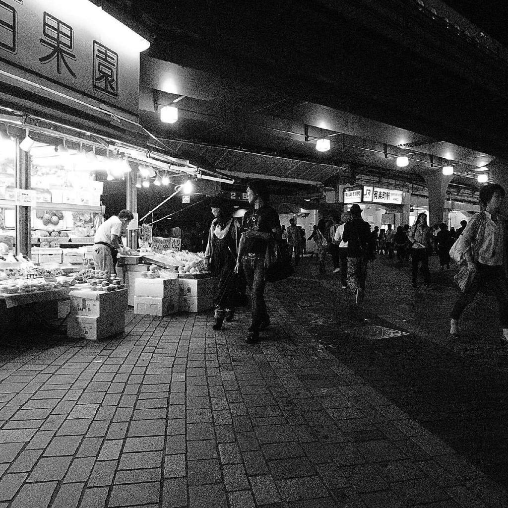 Night of Yurakucho (有楽町)