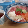 Seafoods rice-bowl