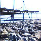 Rock wharf