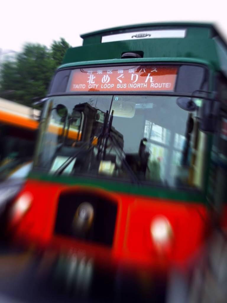 台東区の循環バス