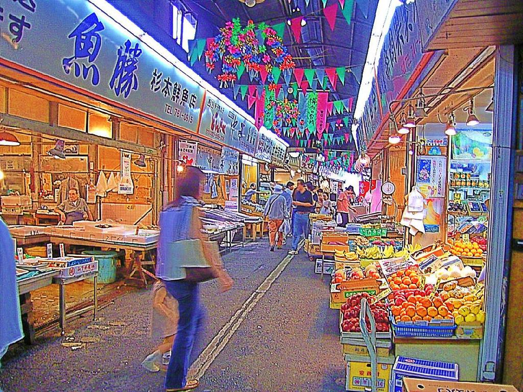 柳橋連合市場(なんちゃってHDR)