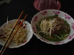 Hu Tieu(南ベトナムの麺)