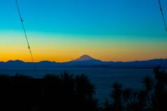 江ノ島から望む