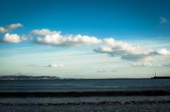 海をわたる雲