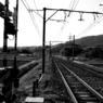 SONY DSLR-A200で撮影した風景(田舎の線路)の写真(画像)