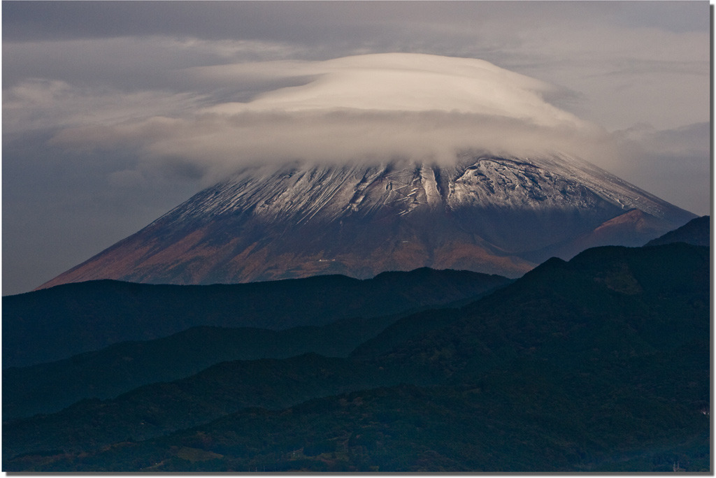窓からの富士山