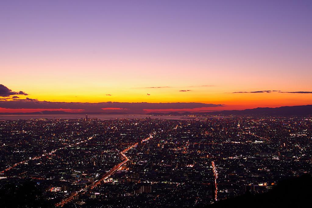 Twilight Osaka