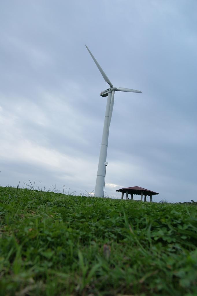 風車でけーw