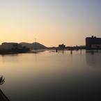 CANON Canon EOS Kiss X2で撮影した風景(園瀬川)の写真(画像)