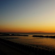 CANON Canon EOS Kiss X2で撮影した風景(at daybreak)の写真(画像)