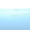 雨に揺れる琵琶湖