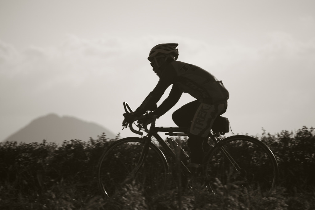 自転車の男