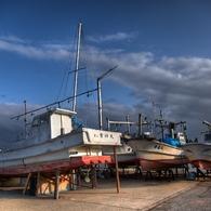 CANON Canon EOS 5D Mark IIで撮影した風景(漁港にて)の写真(画像)