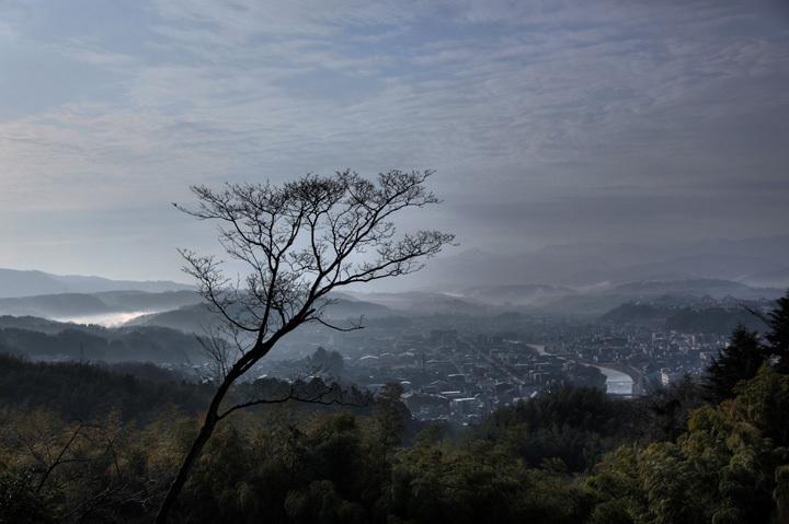 卯辰山の展望