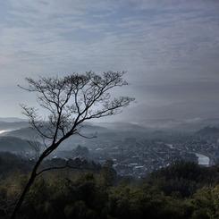 CANON Canon EOS 5D Mark IIで撮影した風景(卯辰山の展望)の写真(画像)