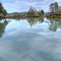 CANON Canon EOS 5D Mark IIで撮影した風景(兼六園 霞が池)の写真(画像)