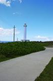 残波岬灯台にて