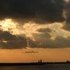 和歌山港の夕日
