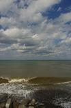 雪解け水の海