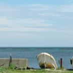 枝幸町のオホーツク海