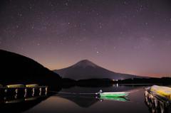 星降る富士
